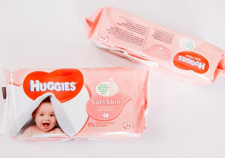 Salvetes Huggies@ Soft Skin, kas tas par zvēru?