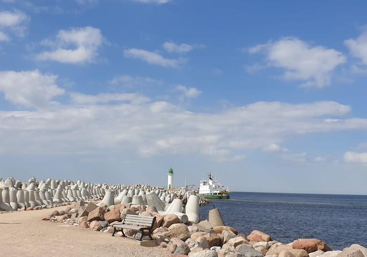 Ventspils Dienvidu mols un pludmale