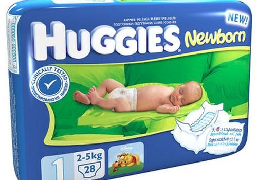 Kuras bija Tava mazuļa pirmās autiņbiksītes?