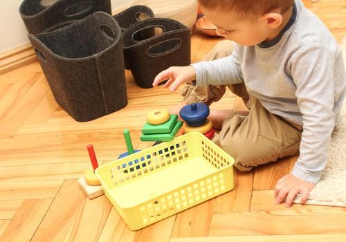 FOTO Huggies@ Brīnumu istaba: kā rotaļājas bērni 16-24 mēnešu vecumā