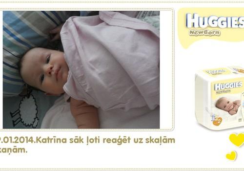 Katrīna aug kopā ar Huggies® Newborn: 85.dzīves diena