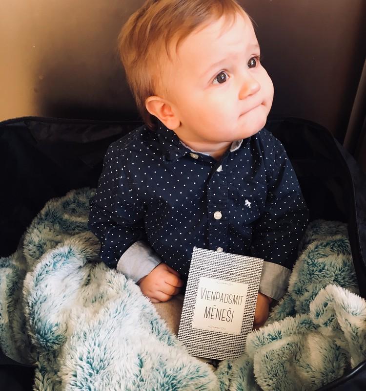 11.mēnesis - bērns ir īsts gudrinieks.