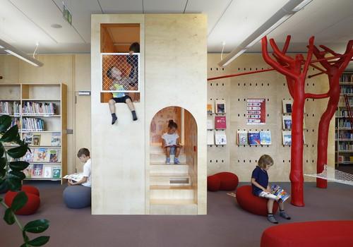 Atvērta jaunā bērnu lasītava Nacionālajā bibliotēkā
