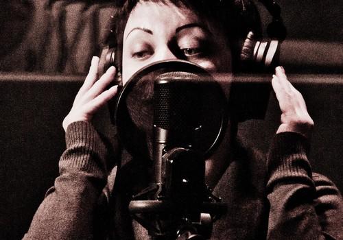 """Studijā """"ANTEX"""" dziesmu ierakstīs.."""