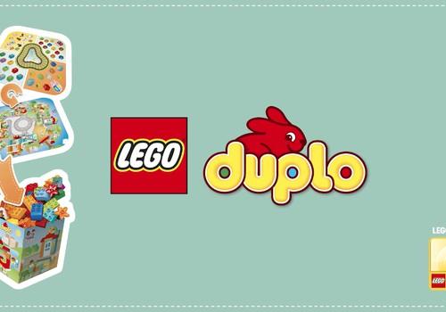 Spēlējies, mācies un uzglabā ar savu LEGO® DUPLO® spēļu paklājiņu!
