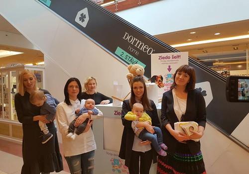 Atklāj labdarības akciju trūcīgu māmiņu jaundzimušo pūriņa atbalstam Latvijas dzemdību nodaļās