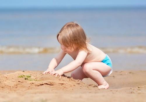 Attīstām bērna sajūtas šajā vasarā