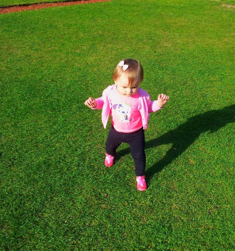 Lily - mazā čāpotāja :)