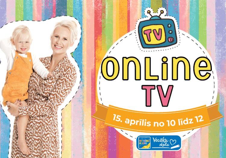 15. aprīlī pieslēdzies Māmiņu Kluba Online TV!
