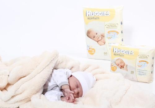 Dāvinām jaundzimušā apģērbu komplektu Huggies loterijā: ceturtā izloze
