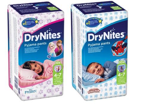 Naktsbiksītes DryNites ir kompensējamo medicīnas ierīču sarakstā