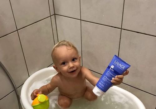 URIAGE Baby šampūna testēšana