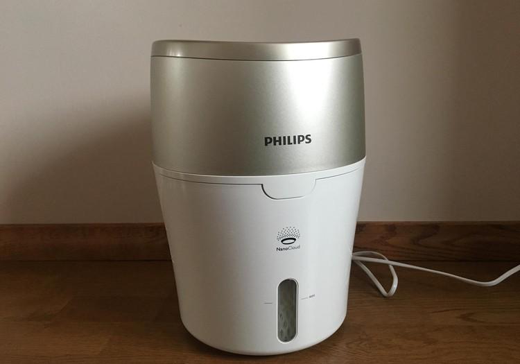 Philips gaisa mitrinātājs veicina miega kvalitāti