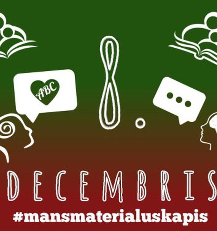 """8. decembris - """"Vārdu spēles"""" Kā palīdzēt apgūt runātprasmi? #mansmaterialuskapis"""