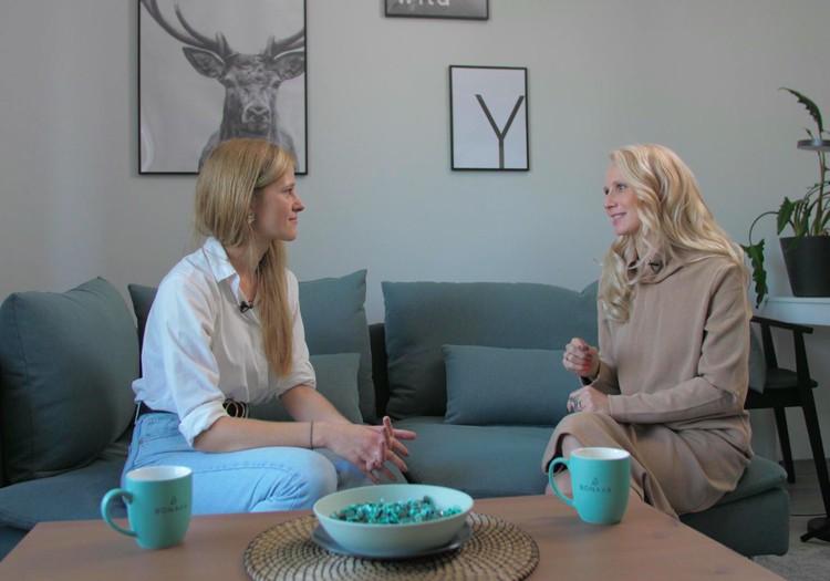 25.oktobra TV raidījuma lielajā intervijā - Dana Gulbe jeb Dana ar kasti