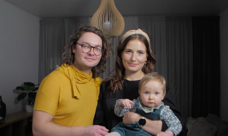 Superbēbītes Odetas māmiņa Kristīne: Mūsu gads bijis piepildīts ar dažādām emocijām