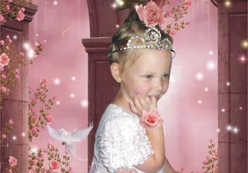 Katrai mazai princesītei ir sava pasaku valstība