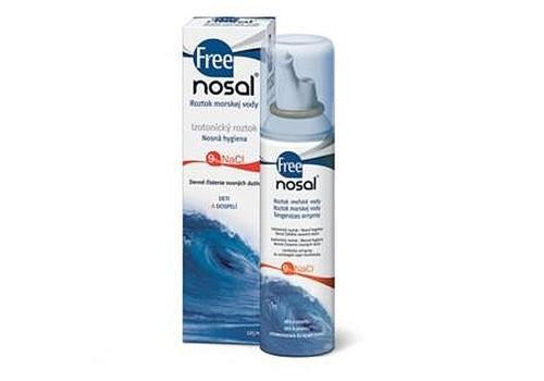 Nedēļas testa produkts: Freenosal jūras ūdens