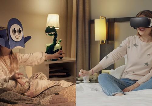 Pasakas virtuālajā realitātē: top unikāla gulētiešanas laika aplikācija bērniem un viņu vecākiem