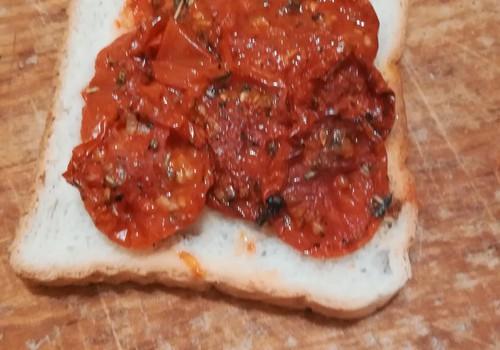 Kaltēti tomāti ātrai ēšanai