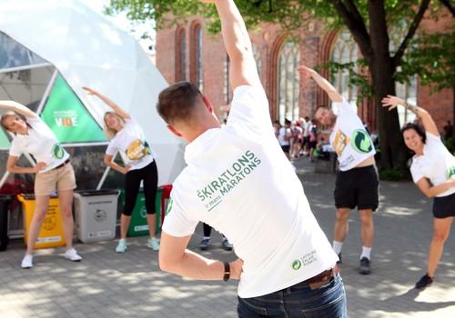 Pirmo reizi Rimi Rīgas maratona vēsturē visā trasē varēs šķirot atkritumus