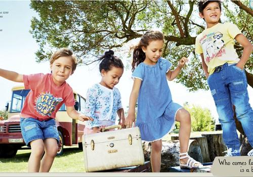 Mode puikām un meitenēm no 1 līdz 8 gadiem
