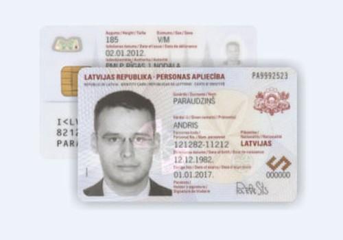 Dodies ceļojumā ar elektronisko identifikācijas karti!