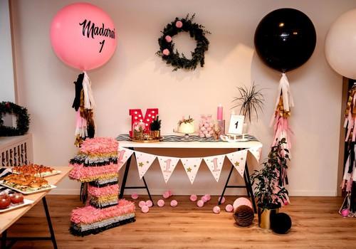 Twinkle Little Star Decor stendā varēsi laimēt pilnu vienas ballītes noformējumu!