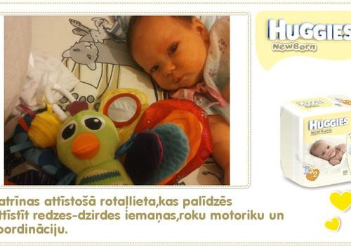 Katrīna aug kopā ar Huggies® Newborn: 36.dzīves diena