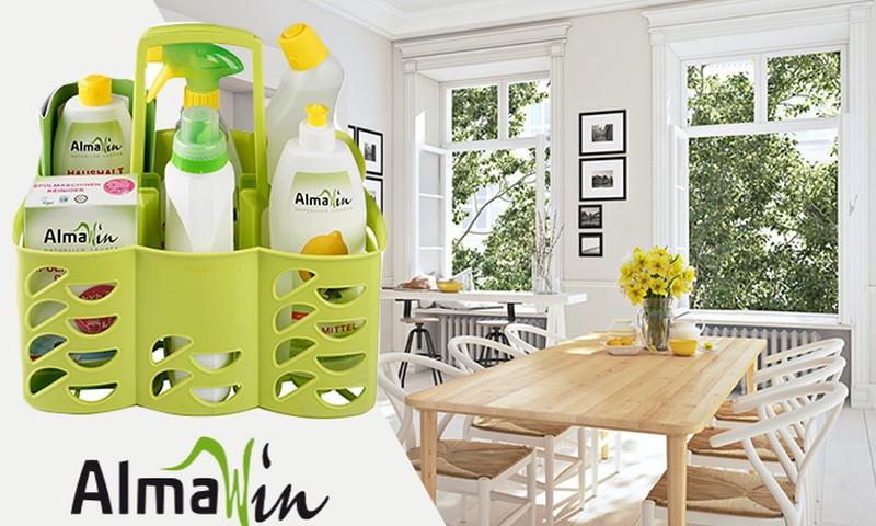 AlmaWin ekoloģiskie un dabīgie tīrīšanas un mazgāšanas līdzekļi