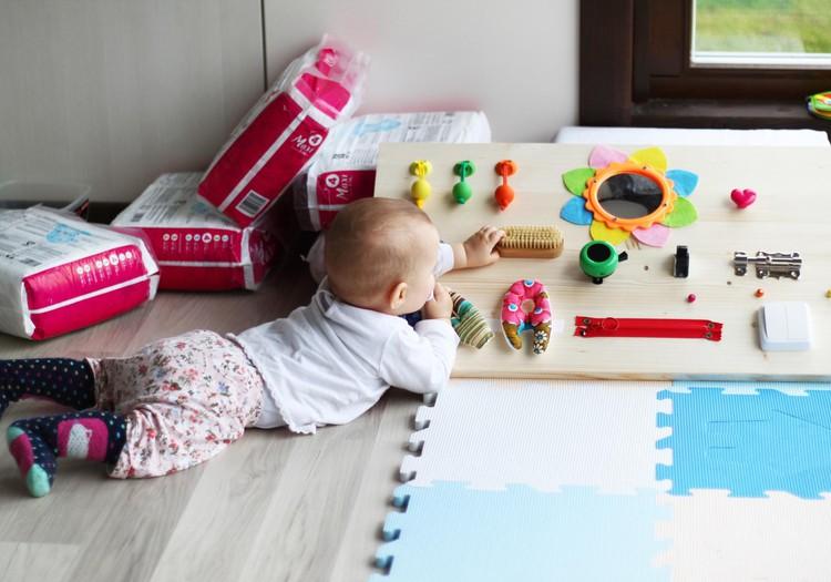 Mammas DIY projekts | Aktivitātes dēlis