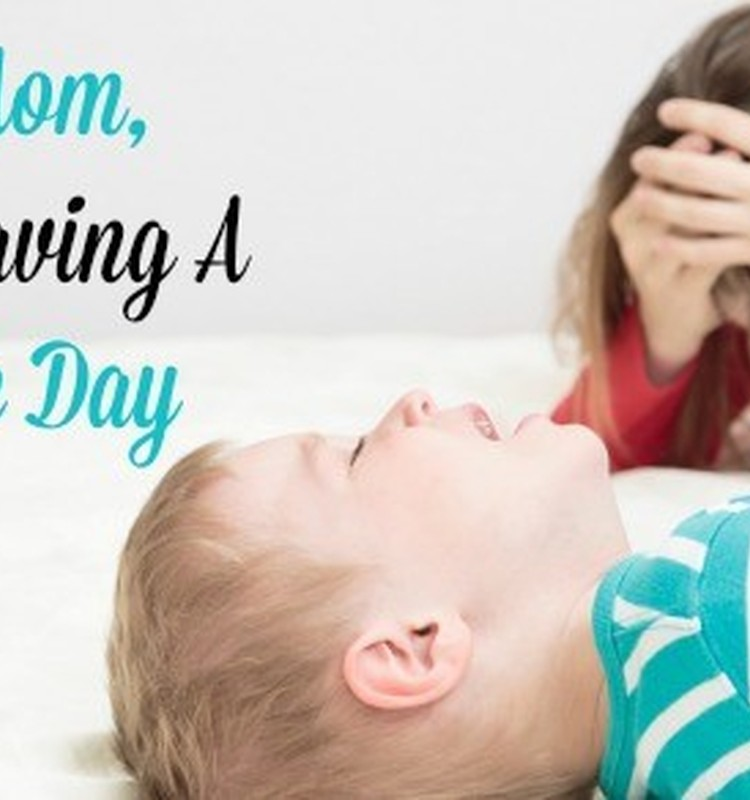 Arī mammām mēdz būst sliktas dienas.