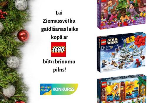 Komentāru KONKURSS: Laimē LEGO® Adventes kalendāru!