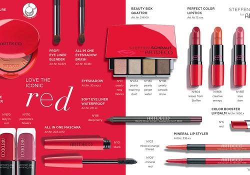 Jaunā ARTDECO pavasara/vasaras kolekcija Love the iconic Red