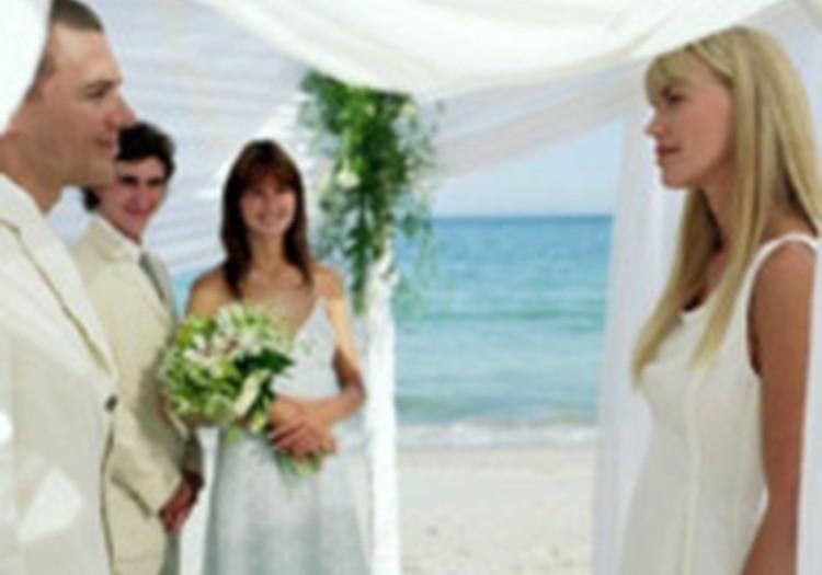 Modes kāzas – pie jūras