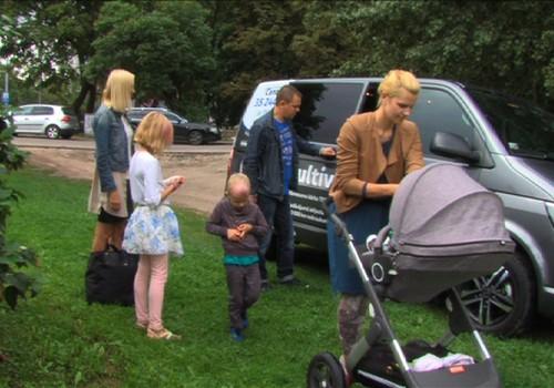 Superbēbja seriāla VIDEO: Dodamies ģimenes ceļojumā ar auto