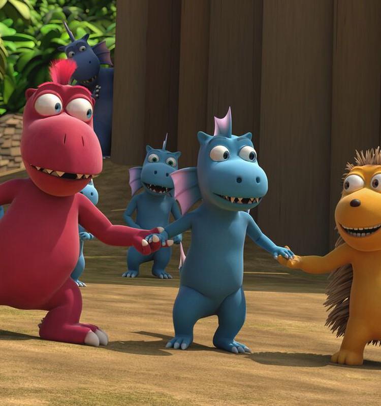 """""""Pūķīša Kokosiņa piedzīvojumi džungļos"""" kinoteātros no 26.aprīļa!"""