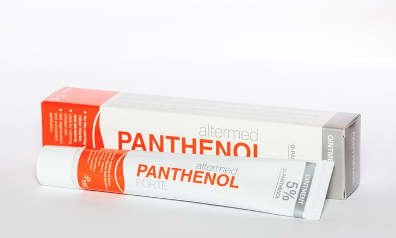 Jauna Panthenol Altermed ziedes tūbiņa!
