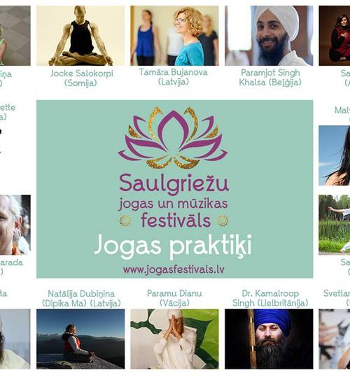 Nedēļas nogalē notiks ceturtais Saulgriežu jogas un mūzikas festivāls