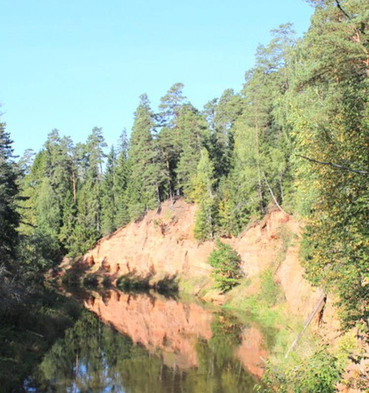 Skaņākalna dabas taka Mazsalacā