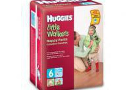 Huggies® Little Walkers® autiņbiksītes  RIMI veikalos par 7,99Ls līdz 15.martam!