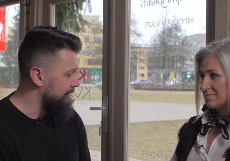16.februāra TV raidījuma lielajā intervijā - Armands Simsons