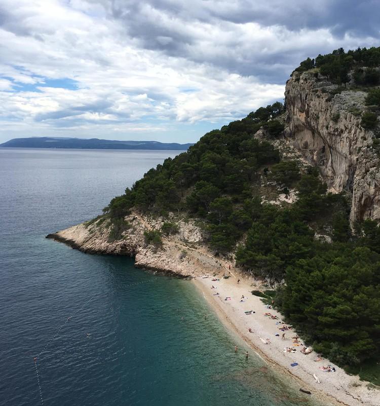 Braucam ar bērniem uz Horvātiju: Makarska