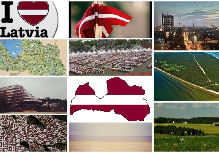 Nav zemes skaistākas, par Latviju.