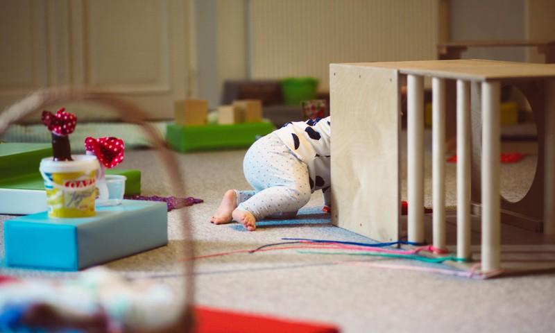 Kā rotaļājas mazulis no dzimšanas līdz 1 gadam. Fizioterapeites Klaudijas Hēlas lekcija ONLINE 8.aprīlī