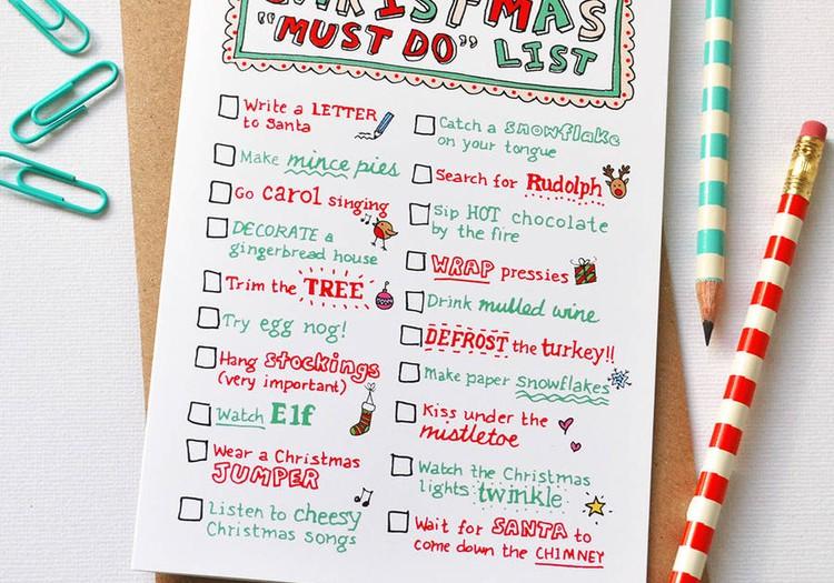 """""""To Do"""" liste ar mazuli šajos Ziemassvētkos!"""