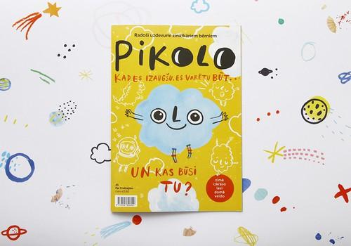 Pikolo - Latvijas ilustratoru radīts žurnāls bērniem
