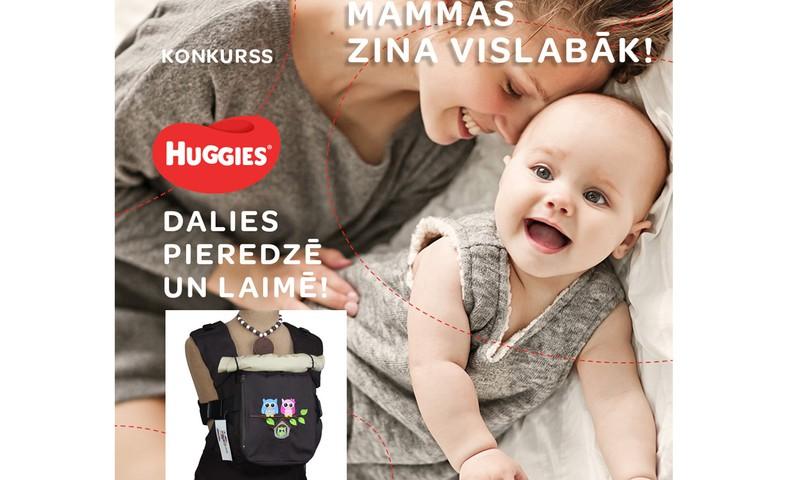 Dalies savos ieteikumos bērnkopībā un laimēr ergosomu un Huggies® autiņbiksītes!