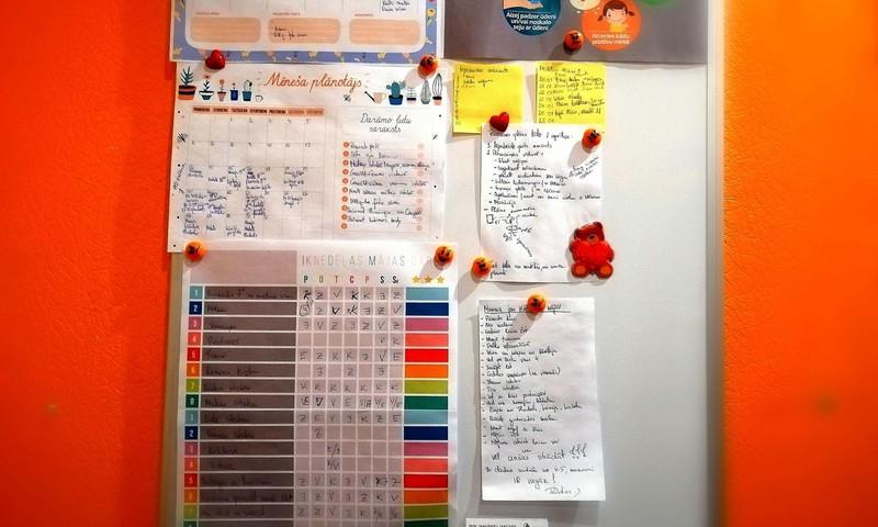 Ikdienas plānošana un darbu dalīšana