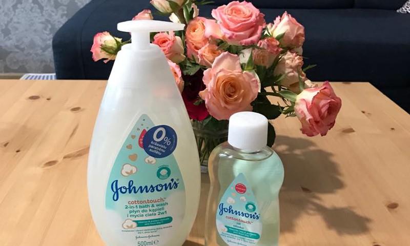 Testējam Johnson's cottontouch kopšanas līdzekļus